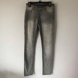 Maurices grey jeggings skinny pants size S